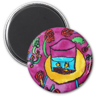 Zachary Thurman 2 Inch Round Magnet