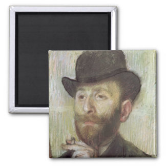 Zachary Zakarian, c.1885 2 Inch Square Magnet
