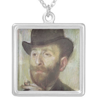 Zachary Zakarian, c.1885 Silver Plated Necklace