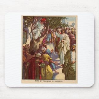 Zacheus ve a Jesús Alfombrillas De Ratones