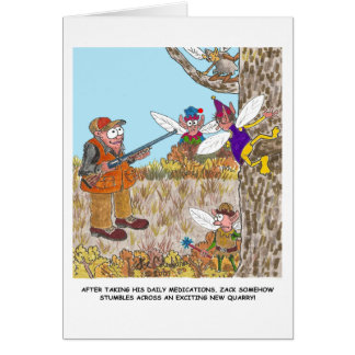 ZACK AND THE FAIRIES card