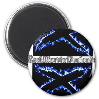 Zack Marvin Coulange Magnat 2 Inch Round Magnet