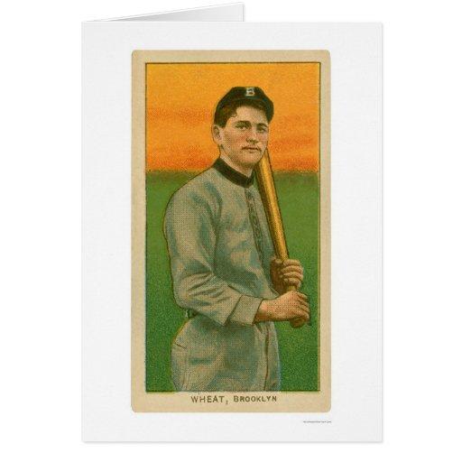 Zack Wheat Baseball Card 1909