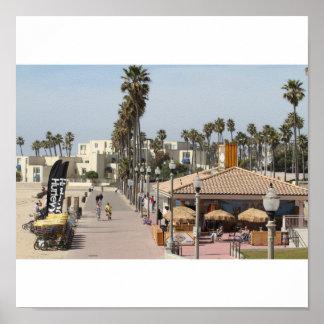 ZACKS   Huntington Beach California Póster
