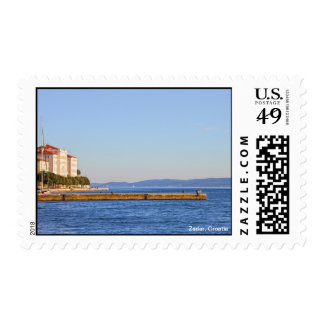 Zadar Sea Pier in Croatia Postage