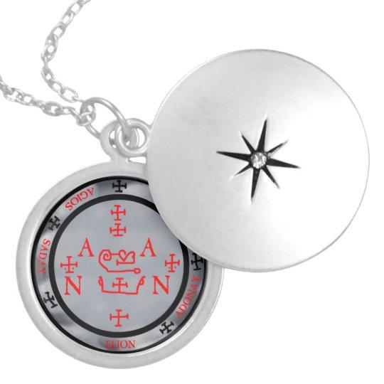 zadkiel (armadel) silver plated necklace