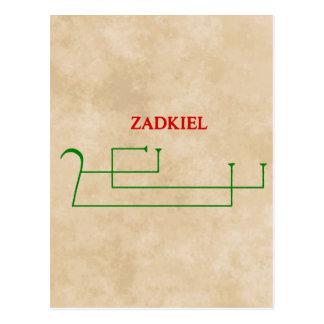 zadkiel post cards