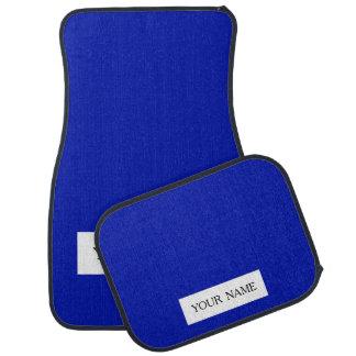 Zaffre Blue Classic Colored Car Floor Mat