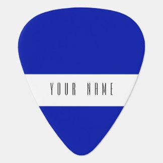 Zaffre Blue Classic Colored Guitar Pick