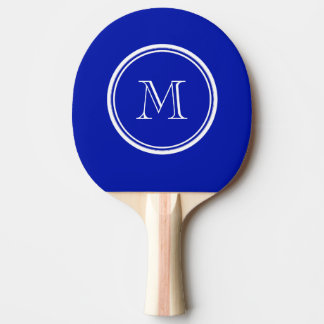 Zaffre Blue High End Colored Ping-Pong Paddle