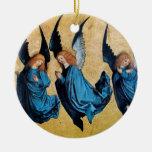 Zafiro del azul de TRES ÁNGELES Ornamente De Reyes
