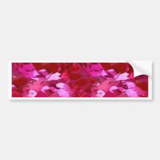 Zafiro rosado Birthstone de septiembre por Sharles Pegatina Para Auto