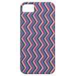 Zag púrpura iPhone 5 Case-Mate protector