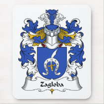 Zagloba Family Crest Mousepad