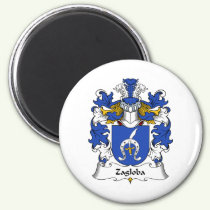 Zagloba Family Crest Magnet