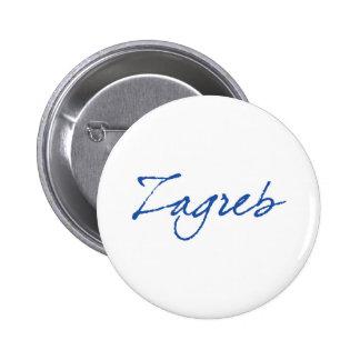 Zagreb 2 Inch Round Button