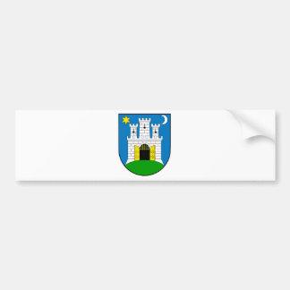 Zagreb Croatia Bumper Sticker