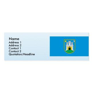 zagreb, Croatia Business Card