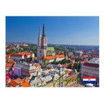 Zagreb Croatia Postcard