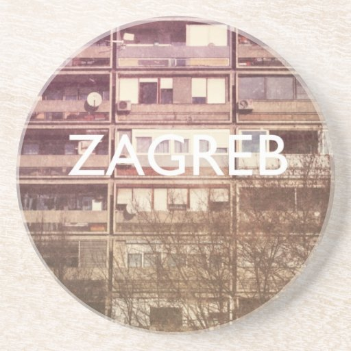 Zagreb Drink Coasters