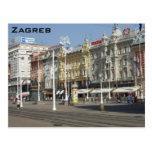 Zagreb Tarjeta Postal
