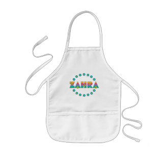 Zahra in Flores Rainbow Kids' Apron