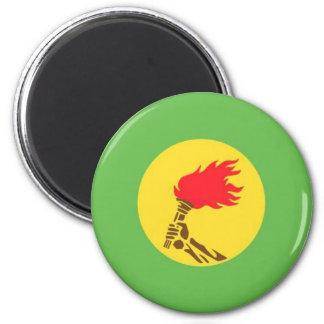 zaire 2 inch round magnet