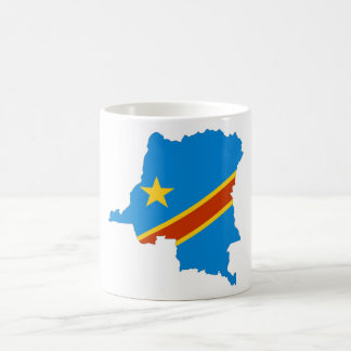 zaire congo country flag map coffee mug