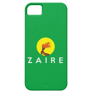 zaire congo country flag symbol name text iPhone SE/5/5s case