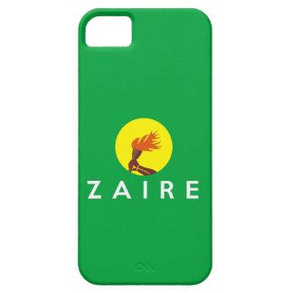 zaire congo country flag symbol name text iPhone SE/5/5s case