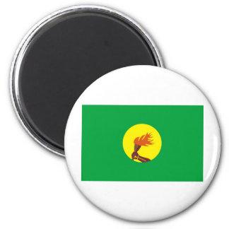 Zaire-Congo flag Magnet