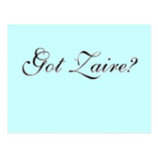 "Zaire ""Congo"" (Got Zaire) T-Shirt and etc Postcard"