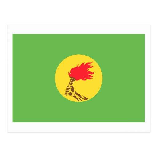 Zaire Flag (1971-1997) Postcards