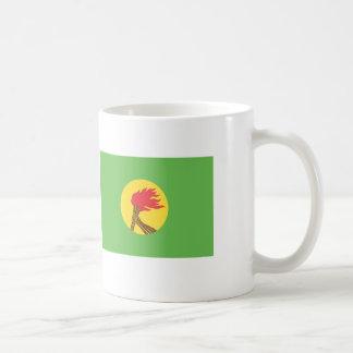 Zaire Flag Coffee Mug