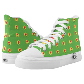 Zaire Flag -.png High-Top Sneakers