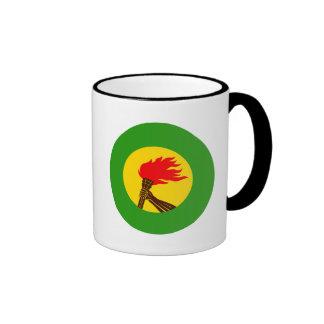 Zaire Flag Ringer Mug