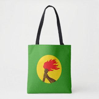Zaire Flag Tote Bag