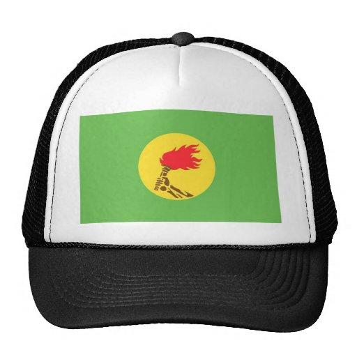 zaire mesh hat
