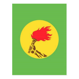 zaire postcard