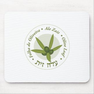 Zait verde oliva de la cerveza inglesa de folha de tapete de ratones
