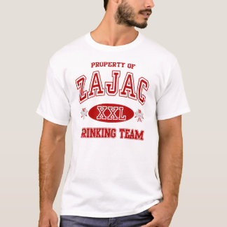 Zajac Polish Drinking Team t shirt