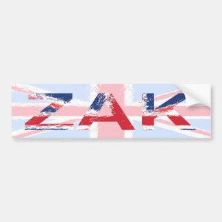 Zak Car Bumper Sticker