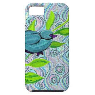 zakiaz blue bird swirl iPhone 5 cases