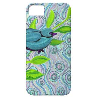 zakiaz blue bird swirl iPhone 5 cover