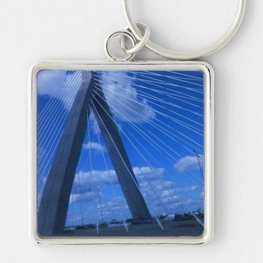 Zakim Bridge, Boston Keychain