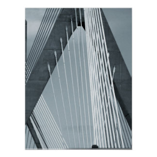 Zakim Bridge Boston Poster