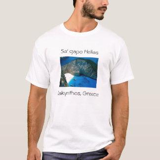 Zakinthos, Ionian Islands, Greece, Sa' gapo Hel... T-Shirt