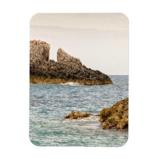 Zakynthos capes rectangular magnet
