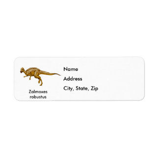 Zalmoxes robustus label