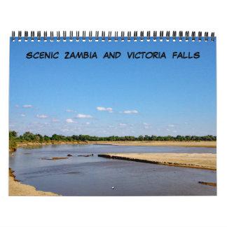 ZAMBIA AND VICTORIA FALLS CALENDAR